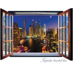 Ablakból a kilátás vlies poszter, fotótapéta 1943VEZ4 /201x145 cm/