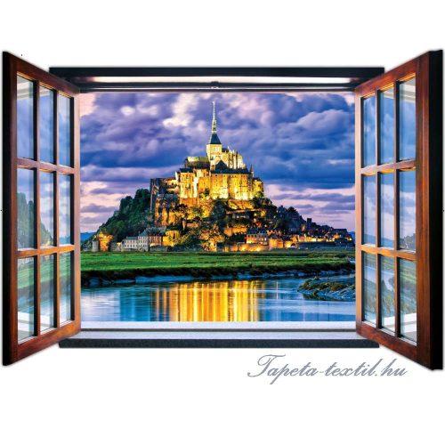 Kilátás az ablakból vlies poszter, fotótapéta 1946VEZ4 /201x145 cm/