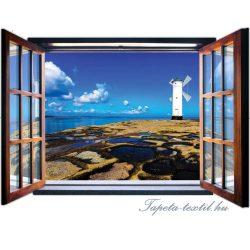 Kilátás az ablakból vlies poszter, fotótapéta 1947VEZ4 /201x145 cm/