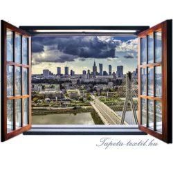 Ablakból a kilátás vlies poszter, fotótapéta 1954VEZ4 /201x145 cm/