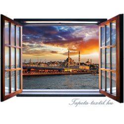 Kilátás az ablakból vlies poszter, fotótapéta 1956VEZ4 /201x145 cm/