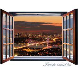 Ablakból a kilátás vlies poszter, fotótapéta 1958VEZ4 /201x145 cm/