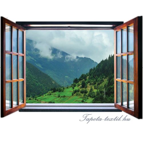 Kilátás az ablakból vlies poszter, fotótapéta 1959VEZ4 /201x145 cm/