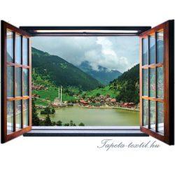Ablakból a kilátás vlies poszter, fotótapéta 1960VEZ4 /201x145 cm/