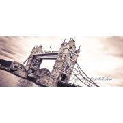 Tower Bridge vlies poszter, fotótapéta 197VEP /250x104 cm/