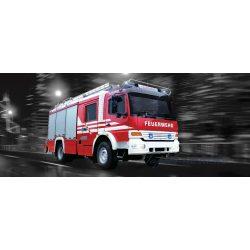 Tűzoltó autó vlies poszter, fotótapéta 2022VEP /250x104 cm/