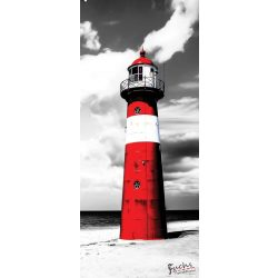 Világítótorony öntapadós poszter, fotótapéta 2026SKT /91x211 cm/