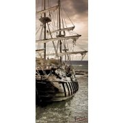Kalózhajó öntapadós poszter, fotótapéta 2050SKT /91x211 cm/