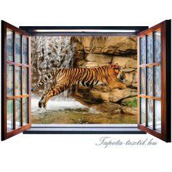 Ablakból a kilátás vlies poszter, fotótapéta 2062VEZ4 /201x145 cm/