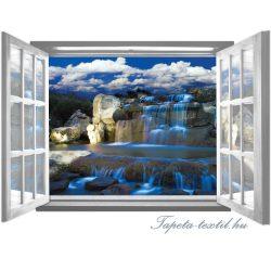 Ablakból a kilátás vlies poszter, fotótapéta 2063VEZ4 /201x145 cm/