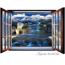 Ablakból a kilátás vlies poszter, fotótapéta 2064VEZ4 /201x145 cm/