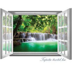 Ablakból a kilátás vlies poszter, fotótapéta 2065VEZ4 /201x145 cm/