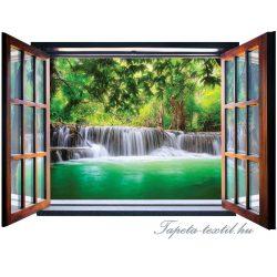 Ablakból a kilátás vlies poszter, fotótapéta 2066VEZ4 /201x145 cm/