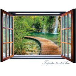 Ablakból a kilátás vlies poszter, fotótapéta 2068VEZ4 /201x145 cm/