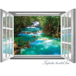 Ablakból a kilátás vlies poszter, fotótapéta 2069VEZ4 /201x145 cm/
