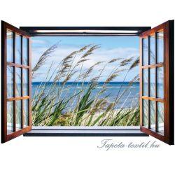 Ablakból a kilátás vlies poszter, fotótapéta 2072VEZ4 /201x145 cm/