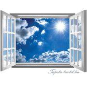 Ablakból a kilátás vlies poszter, fotótapéta 2073VEZ4 /201x145 cm/