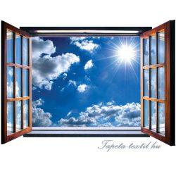 Ablakból a kilátás vlies poszter, fotótapéta 2074VEZ4 /201x145 cm/