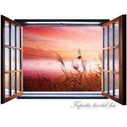 Ablakból a kilátás vlies poszter, fotótapéta 2076VEZ4 /201x145 cm/