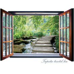 Ablakból a kilátás vlies poszter, fotótapéta 2077VEZ4 /201x145 cm/