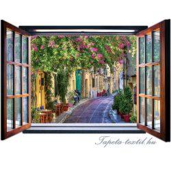 Ablakból a kilátás vlies poszter, fotótapéta 2078VEZ4 /201x145 cm/