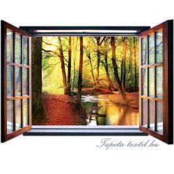 Ablakból a kilátás vlies poszter, fotótapéta 2079VEZ4 /201x145 cm/