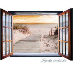 Ablakból a kilátás vlies poszter, fotótapéta 2081VEZ4 /201x145 cm/