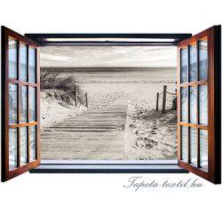 Ablakból a kilátás vlies poszter, fotótapéta 2082VEZ4 /201x145 cm/