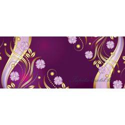 Virág minta vlies poszter, fotótapéta 2135VEP /250x104 cm/