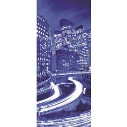 Éjszakai város vlies poszter, fotótapéta 214VET /91x211 cm/
