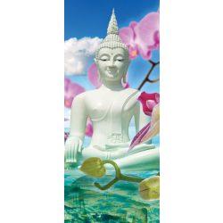 Buddha vlies poszter, fotótapéta 2141VET /91x211 cm/