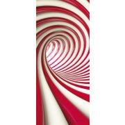 Absztrakt 3D vlies poszter, fotótapéta 2148VET /91x211 cm/