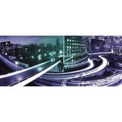 Night light city vlies poszter, fotótapéta 215VEP /250x104 cm/