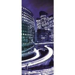 Éjszakai város vlies poszter, fotótapéta 215VET /91x211 cm/