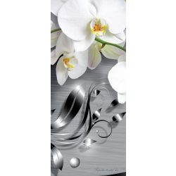 Virág minta vlies poszter, fotótapéta 2158VET /91x211 cm/