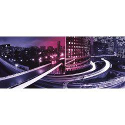 Night City Light poszter, fotótapéta 216VEP /250x104 cm/