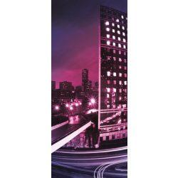 Éjszakai város vlies poszter, fotótapéta 216VET /91x211 cm/