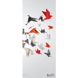 Absztrakt 3D öntapadós poszter, fotótapéta 2162SKT /91x211 cm/