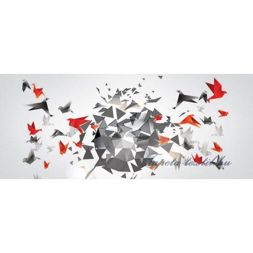 Absztrakt vlies poszter, fotótapéta 2162VEP /250x104 cm/