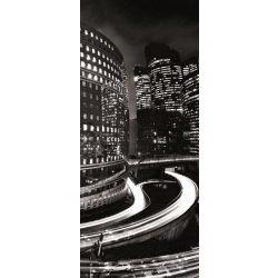 Éjszakai város vlies poszter, fotótapéta 217VET /91x211 cm/