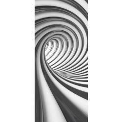 Absztrakt 3D vlies poszter, fotótapéta 2173VET /91x211 cm/