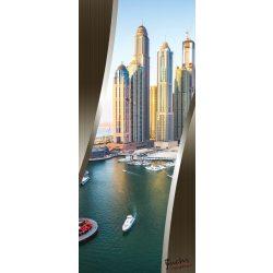 Dubai öntapadós poszter, fotótapéta 2198SKT /91x211 cm/