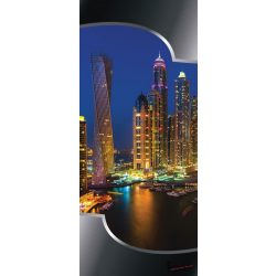 Dubai öntapadós poszter, fotótapéta 2202SKT /91x211 cm/