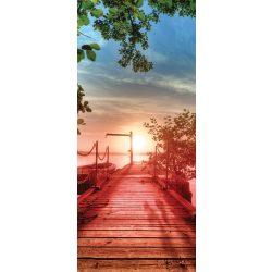 Stég öntapadós poszter, fotótapéta 2224SKT /91x211 cm/