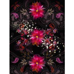 Virág mintaposzter, fotótapéta 2238P4-A /184x254/