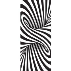 Absztrakt 3D vlies poszter, fotótapéta 2258VET /91x211 cm/