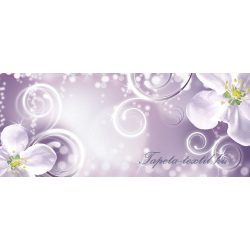 Virág minta vlies poszter, fotótapéta 2268VEP /250x104 cm/