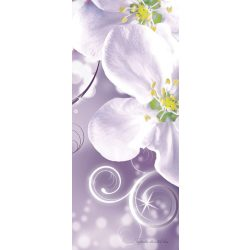 Virág minta vlies poszter, fotótapéta 2268VET /91x211 cm/
