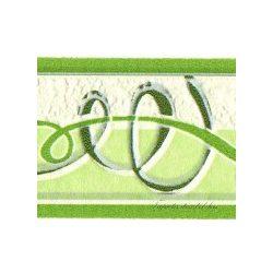 Zöld szalagos bordűr