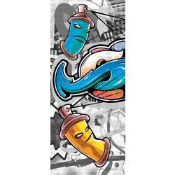 Graffiti vlies poszter, fotótapéta 2294VET /91x211 cm/